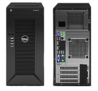 Сервер Dell PowerEdge T30 1xE3-1225v5 1x8Gb 1x1Tb 7.2K 3.5